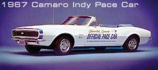 1967 Indy Pace Car