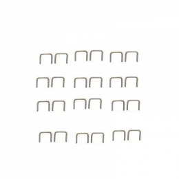 1931 Chevy/GMC Restoration Parts Stainless Steel Staples - 24 Piece - for Window Felts / Dust Shields & More - 19-051F