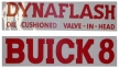 Valve Cover Decal - Buick 8 Dynaflash Oil Cushioned Valve In Head