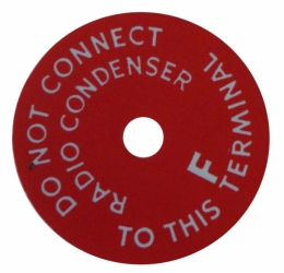 Generator Warning Tag (Plastic)
