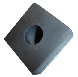 "Lower Window Stop Bumper - 1-5/16"" Square X 1/2"" Thick"