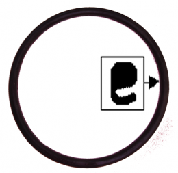 Headlight Door To Lens Ring Seal