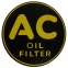 """AC"" Oil Filter Decal - 2"""