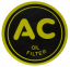 """AC"" Oil Filter Decal - 2-1/4"""