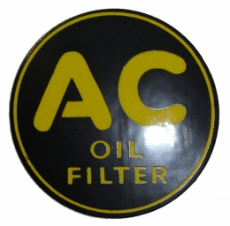 Oil Filter Decal - AC 6493-2