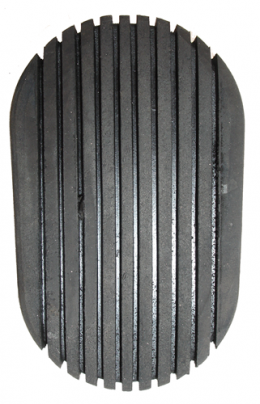 Clutch Or Brake Pedal Pad - Black