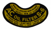 """AC"" Oil Filter Decal (S-6)"
