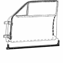 Door Seal Kit - All 4 Doors