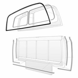 Outer Back Door Or Tailgate Weatherstrip