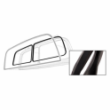 Rear Window On Liftgate Weatherstrip - Without Lip
