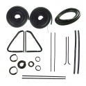 Master Weatherstrip Kit - Without Chrome Windshield Trim