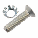 Door Striker Plate Bolt with Washer
