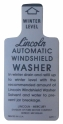 Windshield Washer Bottle Lid Decal