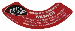 Windshield Washer Lid Decal (Trico)