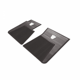 Floor Mat Kit - 2 Piece - BLACK