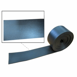 "Window Sash Channel Filler / Glass Setting Tape - Black Rubber 1/16"" Thick"