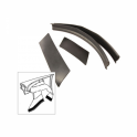 Front Fender Splash Apron Seal Kit