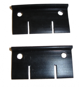 1959 Cadillac Restoration Parts Rear Door At Rear Of Window Seal - ALSO Used For Trunk Lid Drain Seal - 12-007X