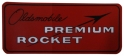 """Oldsmobile Premium Rocket"" Air Cleaner Decal"