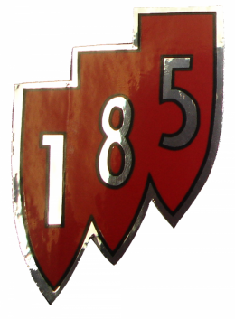 """185"" Shield Air Cleaner Decal"
