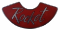 """Rocket"" Air Cleaner Decal"