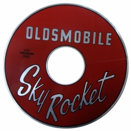 """Sky Rocket"" Air Cleaner Decal"
