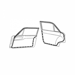 Door Seal Kit - Front & Rear