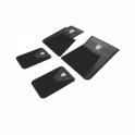 Floor Mat Kit - 4 Piece Front & Rear - BLACK