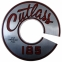 """Cutlass 185"" Air Cleaner Decal"