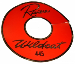 Wildcat 445 Air Cleaner Decal 14""