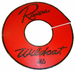 Wildcat 465 Air Cleaner Decal 14""