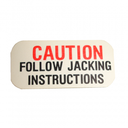 "Jack ""Caution"" Decal"