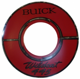 1964 Buick Restoration Parts Wildcat 445 Air Cleaner Decal - 10