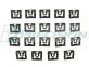 Rear Window Trim Clip Kit - 19 pc.