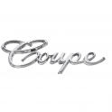 """Coupe"" Emblem - On Rear Quarter Panel"