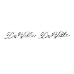 """DeVille"" Emblem - On Rear Quarter Panel"