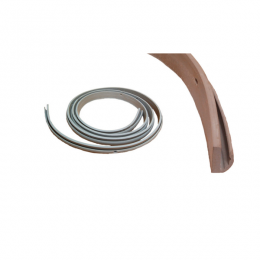 Trunk Lid Dust Seal - Light Gray