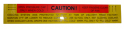 "Cooling System ""Caution"" Decal"