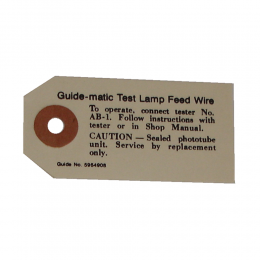 Guide-Matic Photo Tube Tag