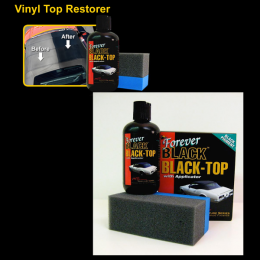 1966 Ford Restoration Parts Forever Black Vinyl Top Restorer - 23-010X