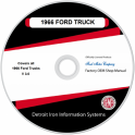 1966 Ford Truck & Van Shop Manuals on CDRom