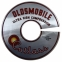 """Oldsmobile Cutlass Ultra High Compression"" Air Cleaner Decal - 11"""
