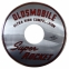 """Oldsmobile Super Rocket Ultra High Compression"" Air Cleaner Decal - 10"""