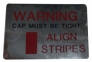 Radiator Align Stripes Decal