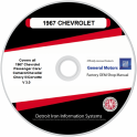 1967 Chevrolet Shop Manuals & Parts Books on CDRom