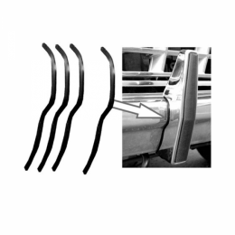 Front Bumper to Bumper Guard Seal Kit