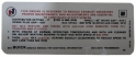 Automatic Transmission Emission Decal - 350-2V