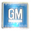 GM Mark Of Excellence Metal Door Plate