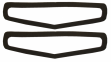 Rear Quarter Marker Light Lens Gasket