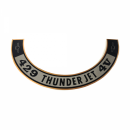 Air Cleaner Decal - Thunderjet 429